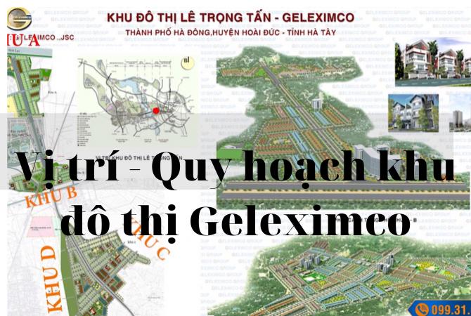 Vị trí – Quy hoạch khu đô thị Geleximco